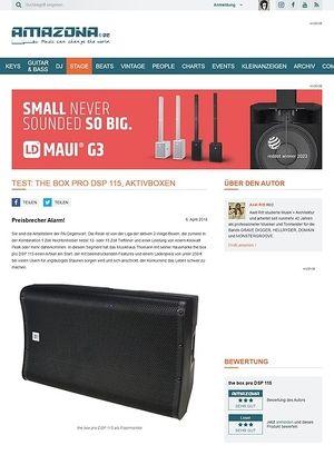Amazona.de the box pro DSP 115