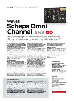 Computer Music Waves Scheps Omni Channel