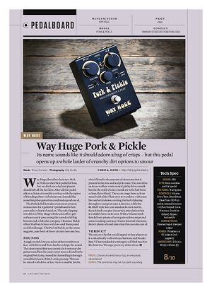 Guitarist Way Huge Pork & Pickle