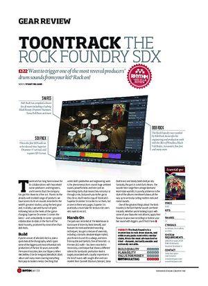 Rhythm Toontrack The Rock Foundry SDX