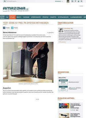 Amazona.de Bose S1 Pro