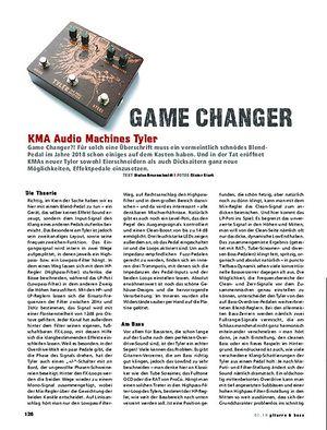 Gitarre & Bass KMA Audio Machines Tyler
