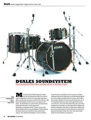 Sticks Tama Superstar Hyper-Drive Duo Set