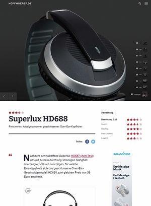 Kopfhoerer.de Superlux HD-688