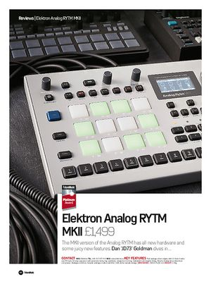 Future Music Elektron Analog RYTM MKII