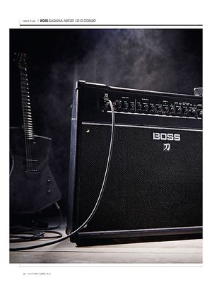 Guitarist Boss Katana Artist 1x12 Combo