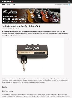 Bonedo.de Harley Benton Rockplug Classic Rock
