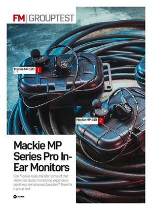 Future Music Mackie MP-240