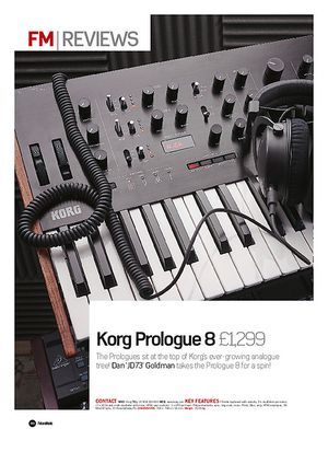 Future Music Korg Prologue 8