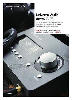 Future Music Universal Audio Arrow