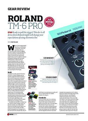 Rhythm Roland TM-6 Pro