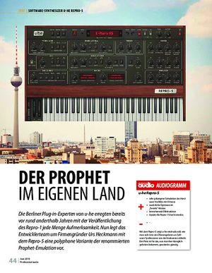 Professional Audio u-he Repro-5