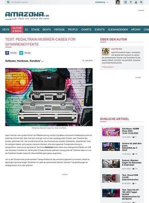 Amazona.de Pedaltrain Soft- und Hardcases für Musiker