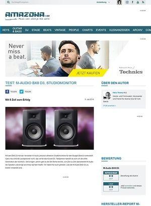 Amazona.de M-Audio BX8 D3