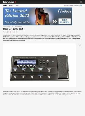 Bonedo.de Boss GT-1000