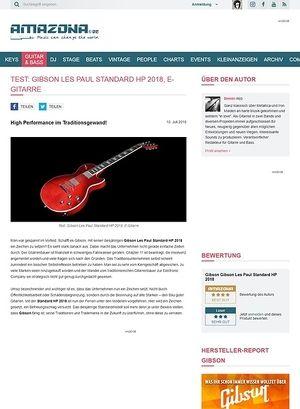 Amazona.de Gibson Les Paul Standard HP 2018