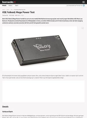 Bonedo.de KSE Falken1 Mega Power