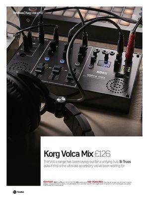 Future Music Korg Volca Mix