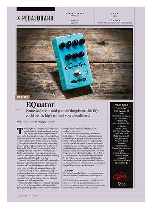 Guitarist Wampler EQuator