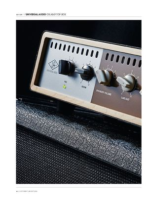 Guitarist Universal Audio Ox Amp Top Box