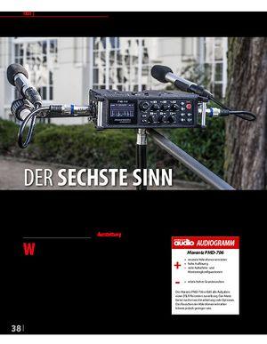 Professional Audio Marantz PMD-706