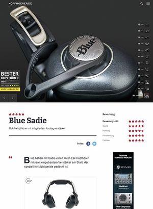 Kopfhoerer.de Blue Sadie