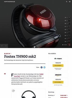 Kopfhoerer.de Fostex TH-900 mk2