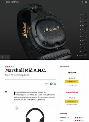 Kopfhoerer.de Marshall Mid A.N.C.