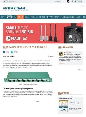 Amazona.de Radial Engineering Pro-D8