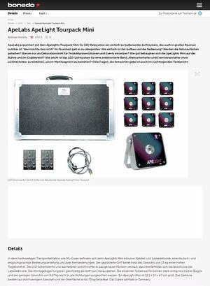 Bonedo.de ApeLabs ApeLight Tourpack Mini