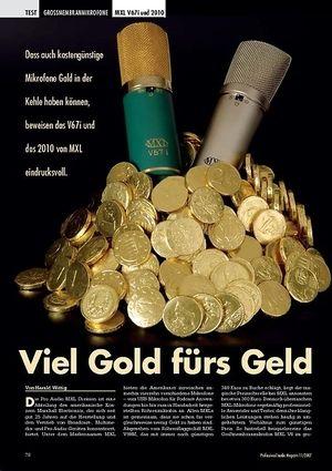 Professional Audio Viel Gold fürs Geld: MXL V67i und 2010