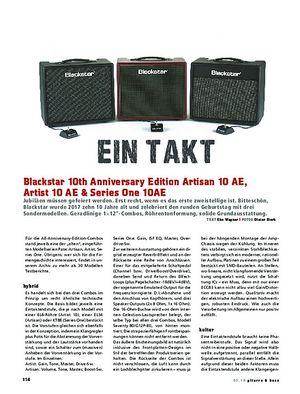 Gitarre & Bass Blackstar 10th Anniversary Edition Combos