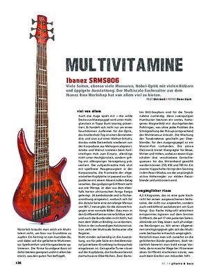 Gitarre & Bass Ibanez SRMS806