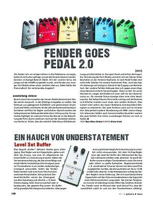 Gitarre & Bass Fender All-Original Effektpedale