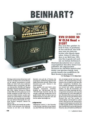 Gitarre & Bass EVH 5150III 50W EL34 Head + 212ST
