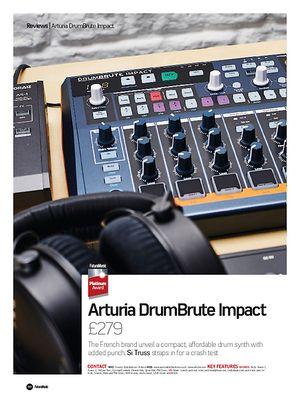 Future Music Arturia DrumBrute Impact