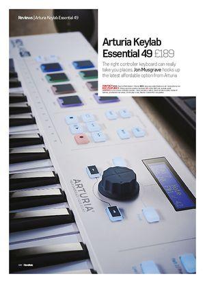 Future Music Arturia Keylab Essential 49