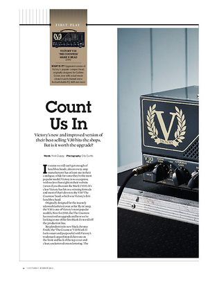 Guitarist Victory V30 'The Countess' Mark II