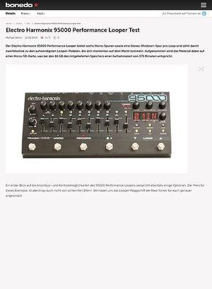 Bonedo.de Electro Harmonix 95000 Performance Looper