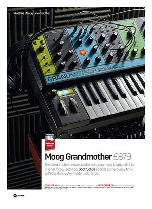 Future Music Moog Grandmother
