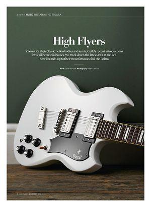 Guitarist Guild S-100 Polara