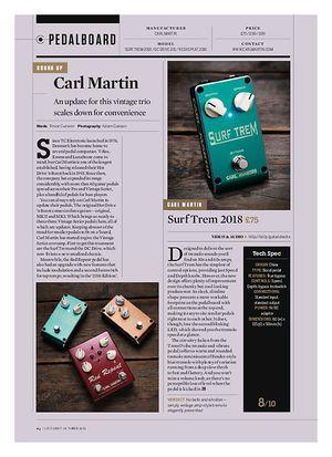 Guitarist Surf Trem 2018