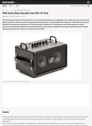 Bonedo.de Phil Jones Bass Double Four BG-75