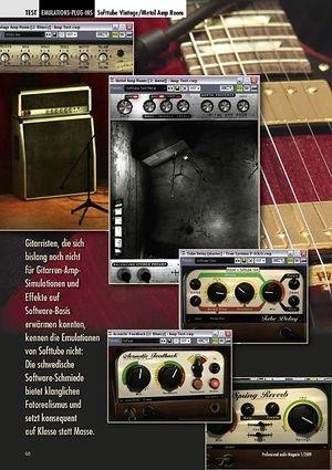 Professional Audio Klasse statt Masse: Softtube Vintage/Metal Amp Room