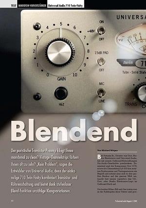 Professional Audio Blendend Universal Audio 710 Twin-Finity