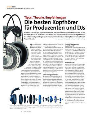 Beat Die besten Kopfhörer für Produzenten und DJs