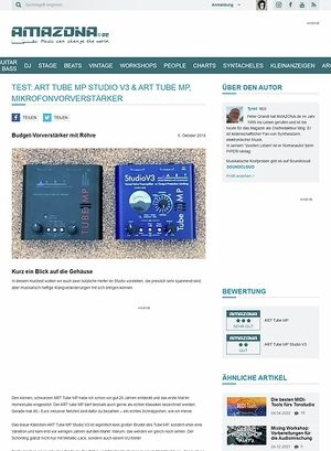 Amazona.de ART Tube MP Studio V3 & ART Studio MP