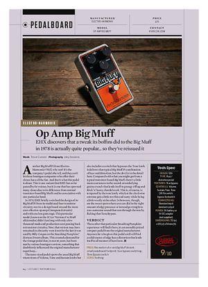 Guitarist Op Amp Big Muff