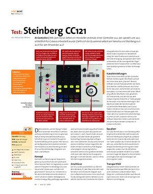 Beat Test: Steinberg CC121