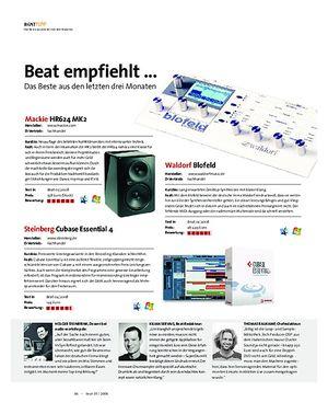 Beat Beat empfiehlt ... Das Beste aus den letzten drei Monaten